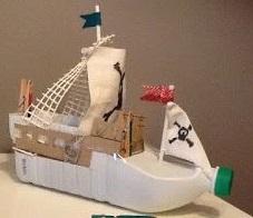 o hacer un barco con botellas de plastico pets world
