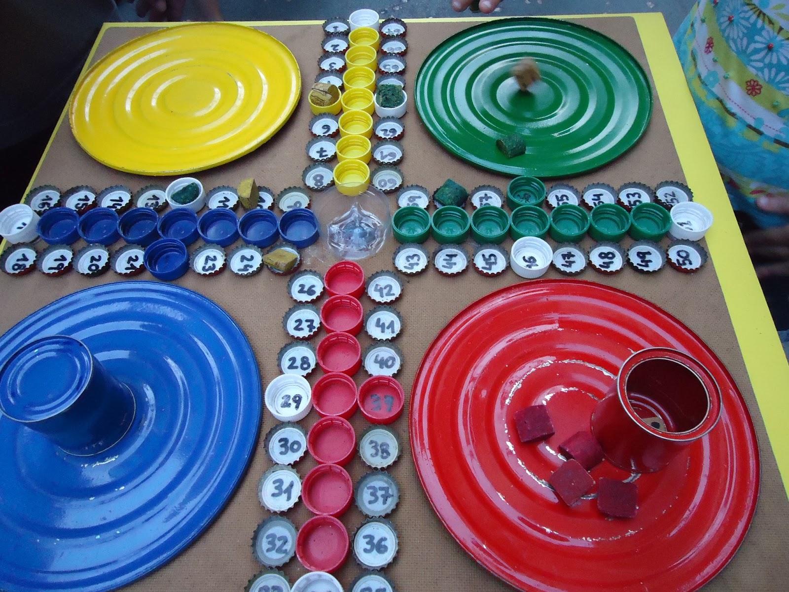 Juegos de mesa con material reciclado saudeter - Juegos para 3 personas en casa ...