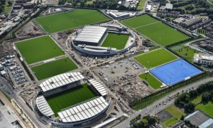 Manchester City's training ground