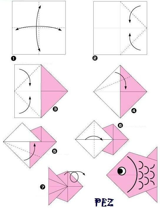 Papiroflexia como hacer figuras de papel tattoo design bild - Papiroflexia paso a paso ...